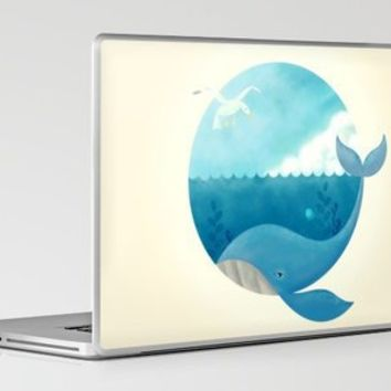 Whale & Seagull Laptop & iPad Skin