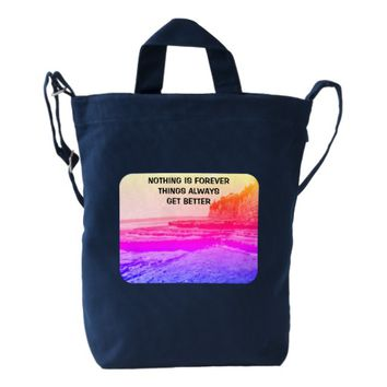 Forever Photo Quote by Kat Worth Duck Bag