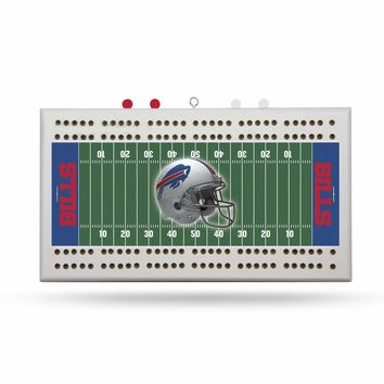 BUFFALO BILLS FIELD CRIBBAGE BOARD