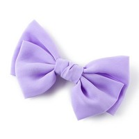 Chiffon Double Bow Hair Clip | Claire's