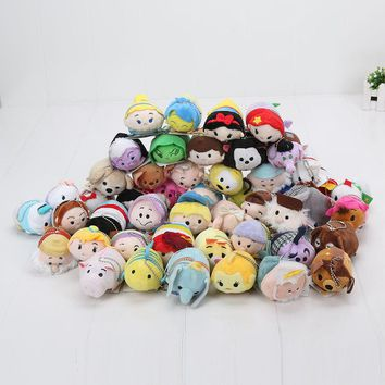 7-9cm Tsum Tsum Plush toy doll Duck toys Cute doll Screen Cleaner Mermaid mini toy keychain
