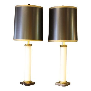Pre-owned Vintage Paul Hanson Table Lamps - A Pair