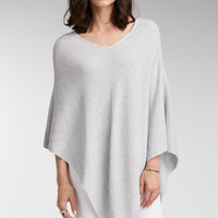 Organic Cotton Poncho - All Seasons Melange
