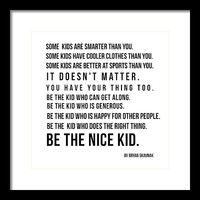Be the nice kid 2 #minimalism by Andrea Anderegg Photography