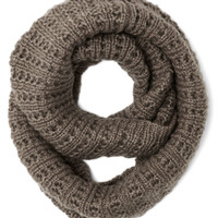 Chill in the Air Circle Scarf in Taupe | Mod Retro Vintage Scarves | ModCloth.com