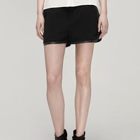 Rag & Bone - Platini Short, Black