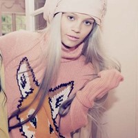 Wildfox Couture Fox Trot Seattle Sweater in Scotch