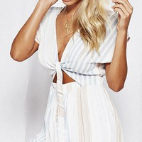 Gabriel Striped Playsuit