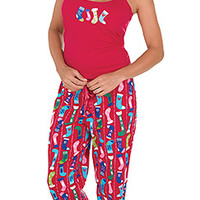 Christmas Stocking Cami Pajamas | PajamaGram