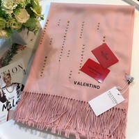 Valentino Women Fashion Wool Warm Scarf Scarves-4