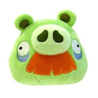 Angry Birds Plush 5-Inch Grandpa Pig with Sound