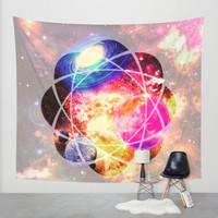 space. Wall Tapestry by Haroulita