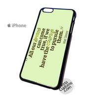 All our dreams can come quotes Walt Disney Phone Case For Apple,  iphone 4, 4S, 5, 5S, 5C, 6, 6 +, iPod, 4 / 5, iPad 3 / 4 / 5, Samsung, Galaxy, S3, S4, S5, S6, Note, HTC, HTC One, HTC One X, BlackBerry, Z10