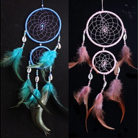 4 Colors Dream Catcher With Feathers Bedroom Or Wall Hanging Decoration Ornament [8045578887]