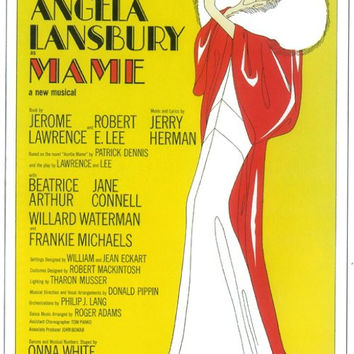 Mame 11x17 Broadway Show Poster (1966)