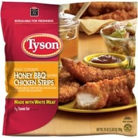 Tyson Honey BBQ Flavored Chicken Strips, 25 oz - Walmart.com