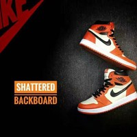 "AIR JORDAN 1 RETRO HIGH OG ""SHATTERED BACKBOARD"" US SIZE 5.5-13"