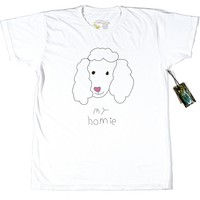 POODLE GRAPHIC TEE - LOOSE FIT