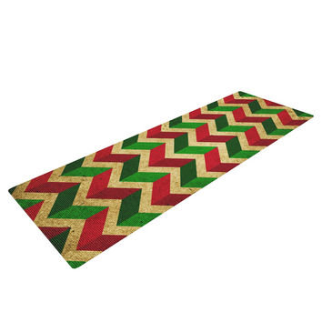 "KESS Original ""Herringbornaments"" Yoga Mat"