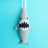 Christmas Ornament Funny - Ferocious Shark