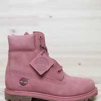 Timberland - Women's 6-Inch Premium Waterproof Boots - Dusty Rose