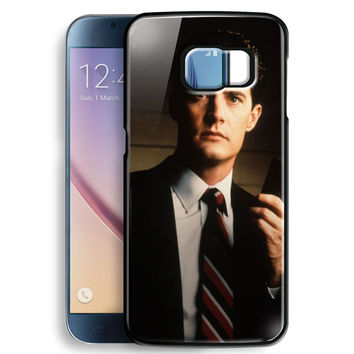 diane twin peaks agent cooper for Samsung Galaxy S6 Case