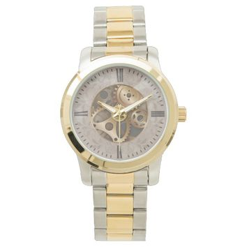 Elegant Antique Roman Numerals Watch