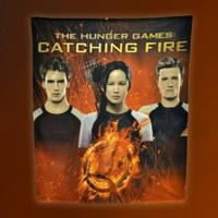 NECA The Hunger Games: Catching Fire Katniss, Peeta, Finnick Fleece Blanket