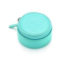 Tiffany & Co. | Item | Jewelry case in Tiffany Blue® grain leather. More colors available. | United States