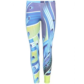 adidas by mary katrantzou - printed leggings