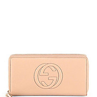 Gucci - Soho Leather Zip Around Wallet - Saks Fifth Avenue Mobile