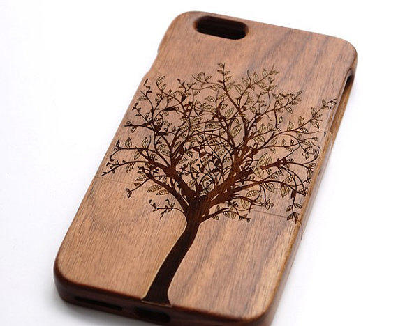 Wood Phone Case Tree Case Iphone6 From Wutiao5 On Etsy