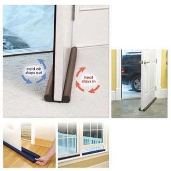 Double-Sided Doorstop Draft Guard
