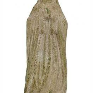 "Religious Statue. 10-3/4"" H Magnesia Vintage Reproduction of Saint Theresa Statue."