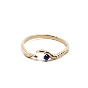Open Wave Ring