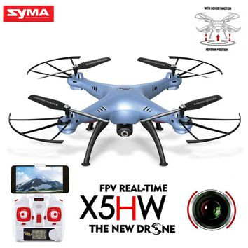 Original Syma X5HW FPV RC Quadcopter Drone With WIFI Camera 2.4G 6-Axis Upgrade RC Helicopter Toys Pressure High Mode