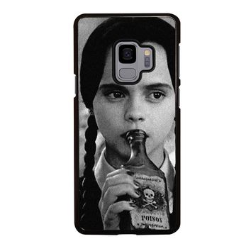 WEDNESDAY ADDAMS Samsung Galaxy S3 S4 S5 S6 S7 S8 S9 Edge Plus Note 3 4 5 8 Case