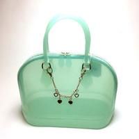 Candy Jelly Bowler Bag