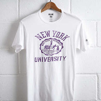 Tailgate NYU Seal T-Shirt, White