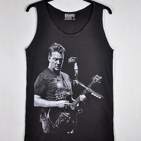 Josh Homme Queens Stone Age Rock Like Clockwork Stoner rock band Kyuss Women Dark Gray Vest Tank Top