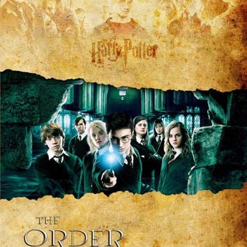 Harry Potter and the Order of the Phoenix 11x17 Movie Poster (2007)