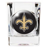 Personalized NFL Shot Glass - Saints