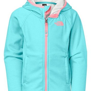 The North Face Girl's 'Agave' Hardface Fleece Hooded Jacket