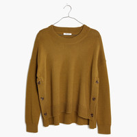 Brownstone Side-Button Sweater : shopmadewell AllProducts | Madewell