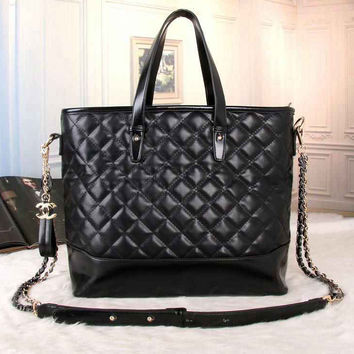 CHANEL Women Fashion Shopping Leather Satchel Shoulder Bag Handbag Crossbody