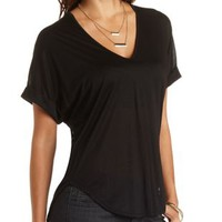 High-Low Dolman Tee by Charlotte Russe