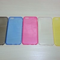 For Apple iPhone 6 (4.7 inches) Super Slim 0.3 mm TPU Soft Silicone case