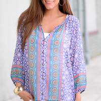 The Dharma Blouse, Royal