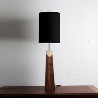 Walnut-Maple Lamp