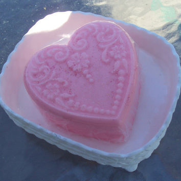 Cherry Almond Goats Milk Glycerin soap